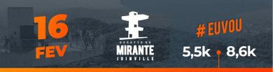 Desafio Subida ao Mirante Joinville