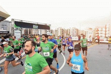 Prova de subida do Morro da Cruz reúne cerca de mil atletas em Floripa